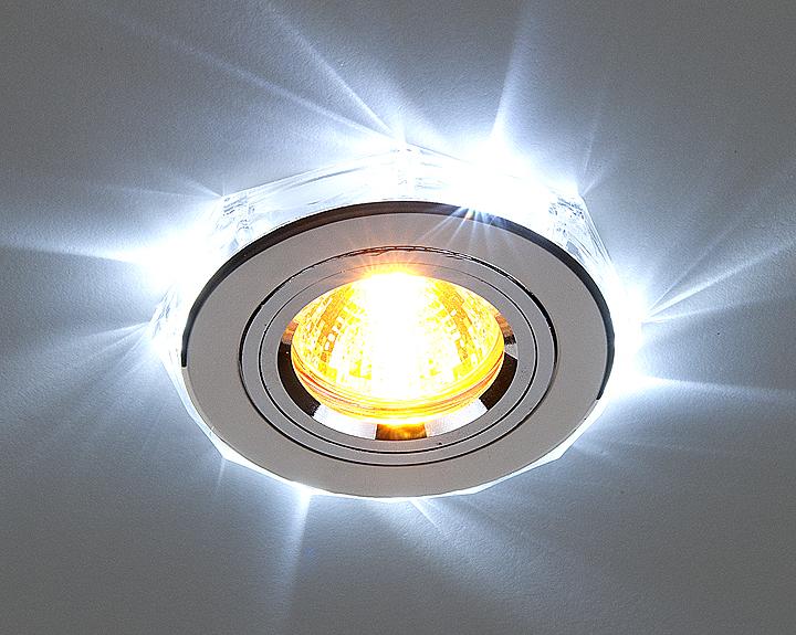 Светильник светодиодный потолочный встраиваемый