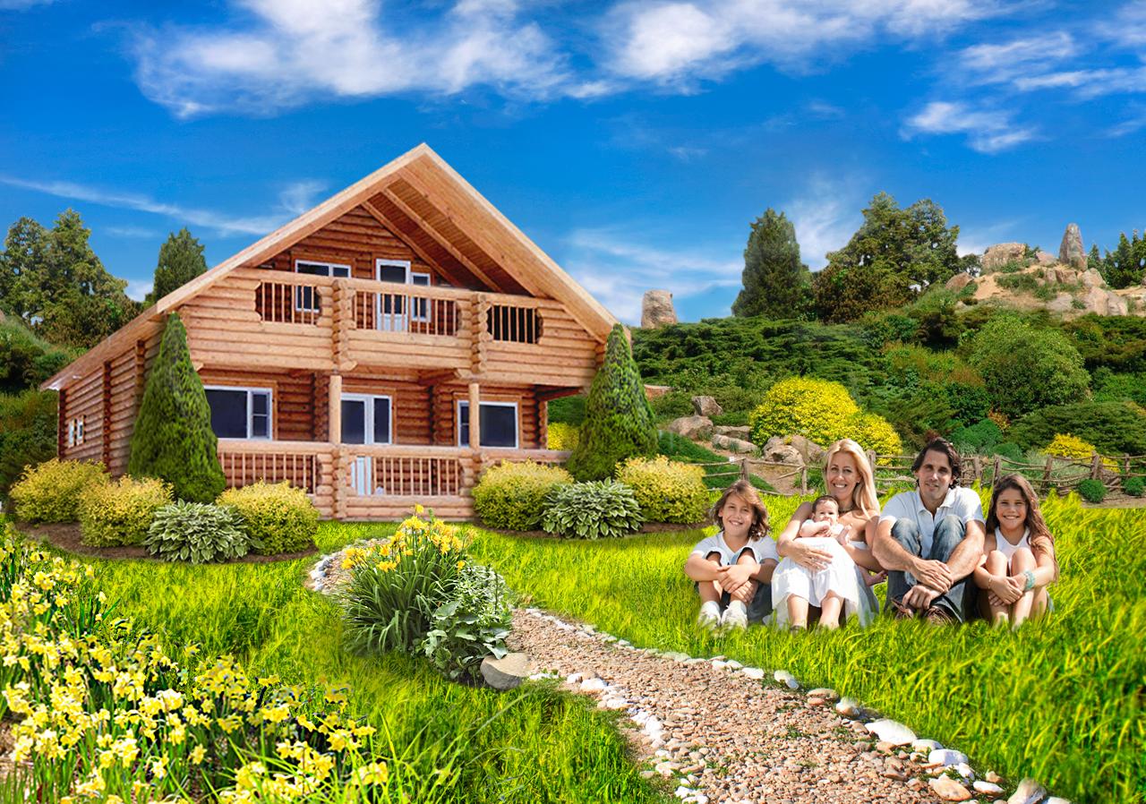 Жизнь в загородном доме