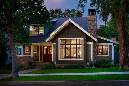 Дом термос из дерева