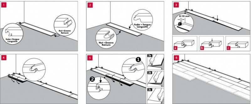 Укладка ламината без порогов: подготовка пола, особенности монтажа