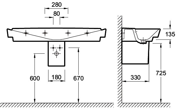 Подвесные сантехнические системы