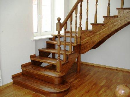 Межэтажная лестница для частного дома