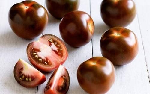 Черные помидоры кумато