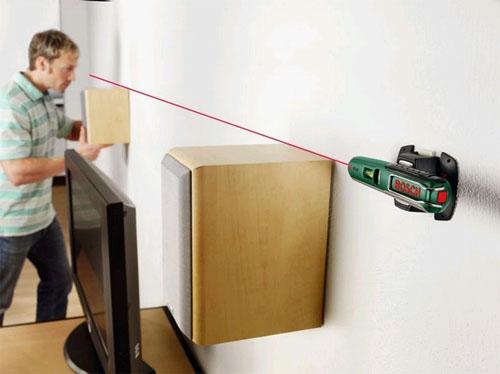 Лазерный нивелир для непрофессионального строителя