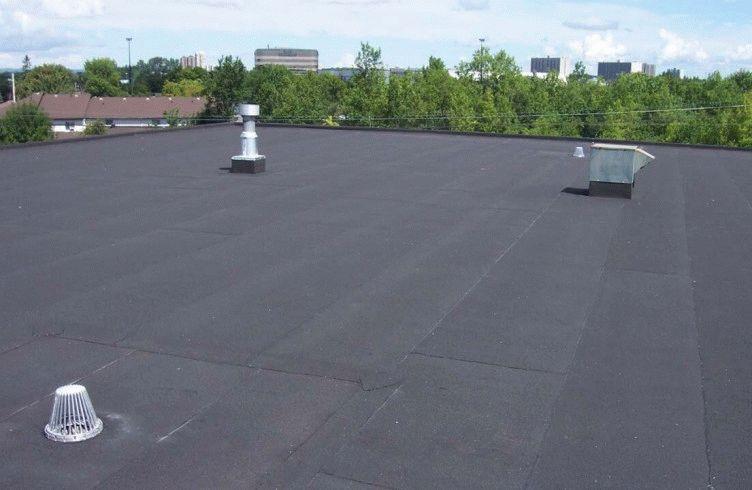 Как ремонтировать крышу горячим битумом (битумной мастикой)?