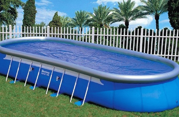 Какой лучше выбрать бассейн – каркасный или надувной для дачи в 2016 году?